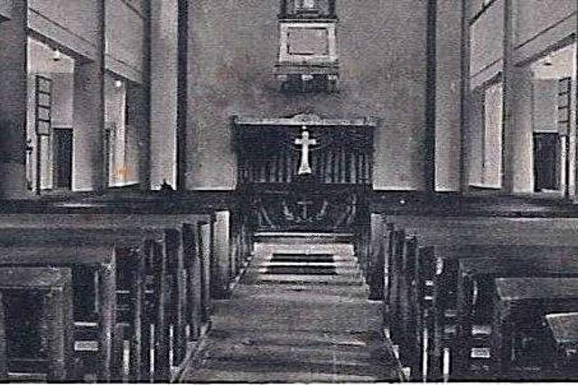 Kanderner Pfarrer sucht nach einem verschwundenen Kreuz