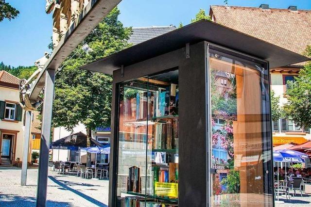 Fünf Jahre Bücherschrank am Marktplatz – die Bilanz fällt positiv aus