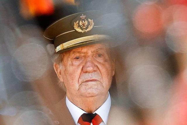 Spaniens Ex-König Juan Carlos zieht ins Ausland