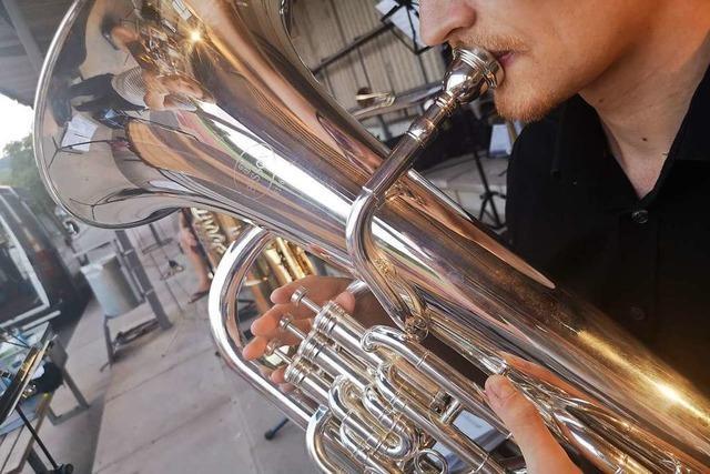 Inzlinger Guggenmusik sucht mit Schnupperprobe neue Mitglieder
