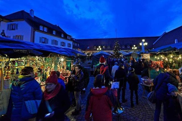 In Freiburg-Munzingen sind Weinfest und Weihnachtsmarkt abgesagt