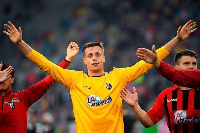 SC-Freiburg-Torhüter Alexander Schwolow wechselt zu Hertha BSC