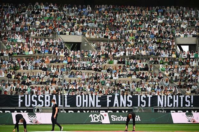 Das ist das Bundesliga-Konzept für erste Spiele mit Zuschauern