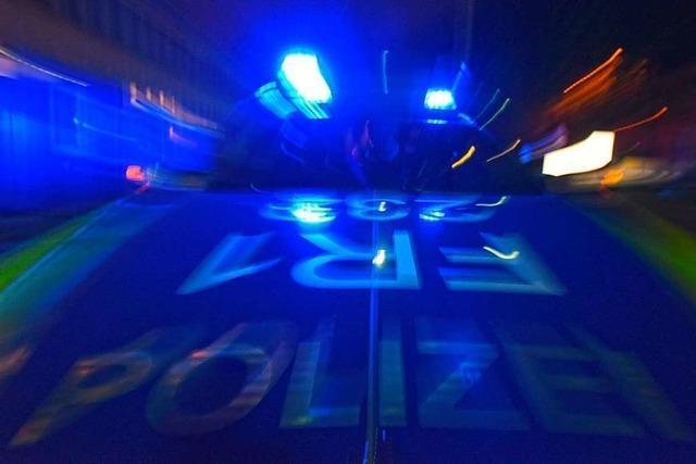 29-Jähriger liefert sich mit der Polizei eine Verfolgungsfahrt von Denzlingen bis Freiburg
