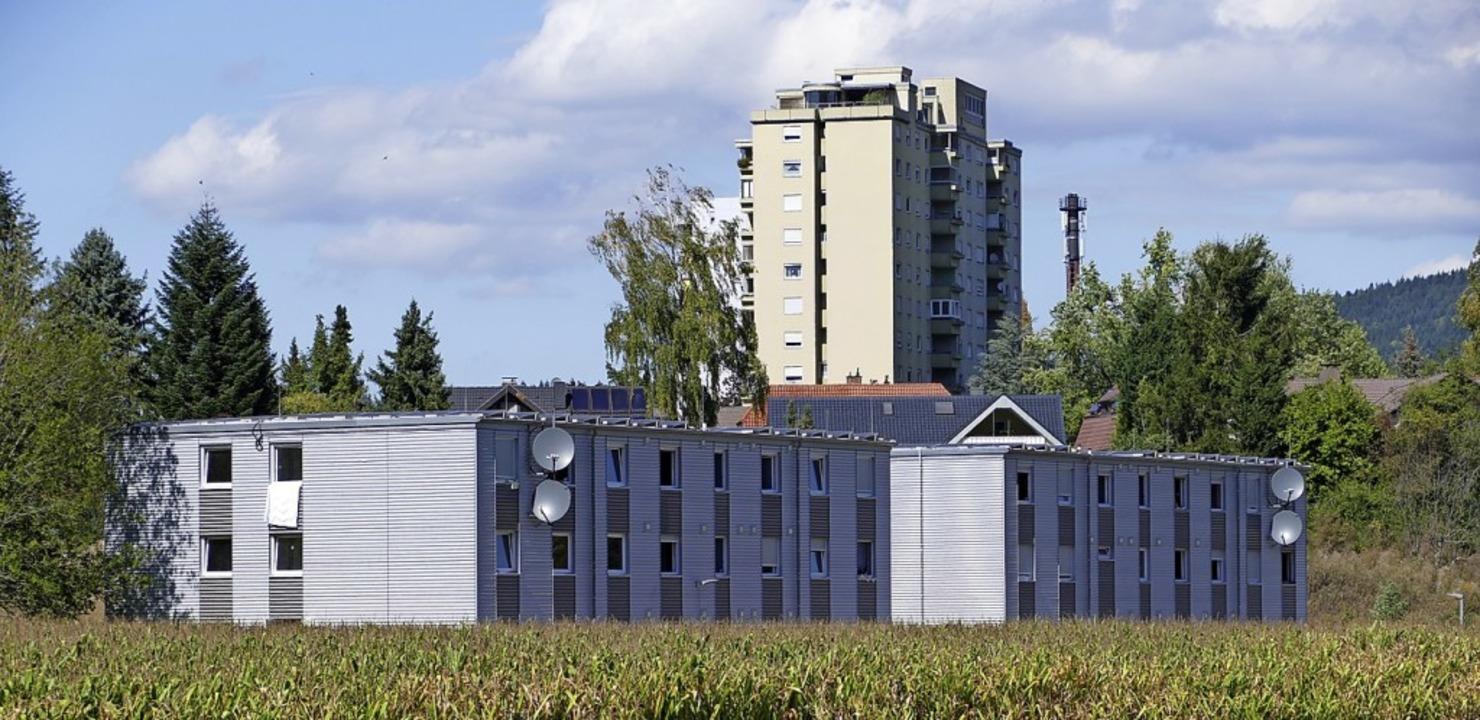 Die Gemeinschaftsunterkunft in Bad Säckingen   | Foto: Dora Schöls