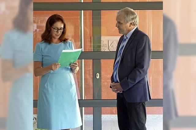 Hohberger Schulleiter verabschiedet