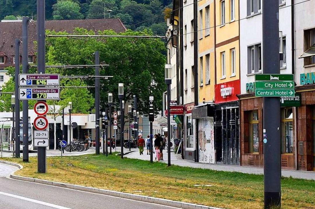Der Unfall ereignete sich in der vergangenen Woche am Friedrichring.  | Foto: Thomas Kunz