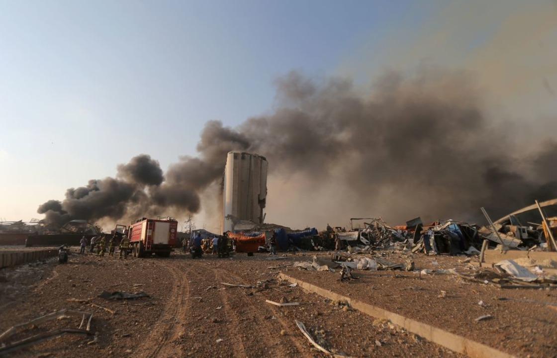 Die Detonationen ereigneten sich in der Gegend des Hafens.  | Foto: STR (AFP)