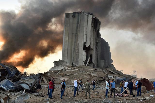 Gewaltige Explosionen erschüttern Beirut - Viele Tote und Verletze