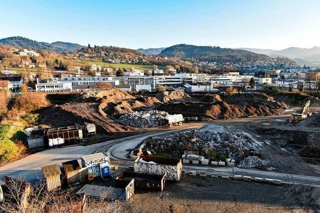 Erdaushublager in Freiburg-Haslach bleibt in Betrieb