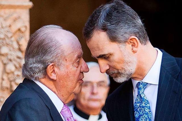 Die Flucht des alten Königs: Wo ist Juan Carlos?