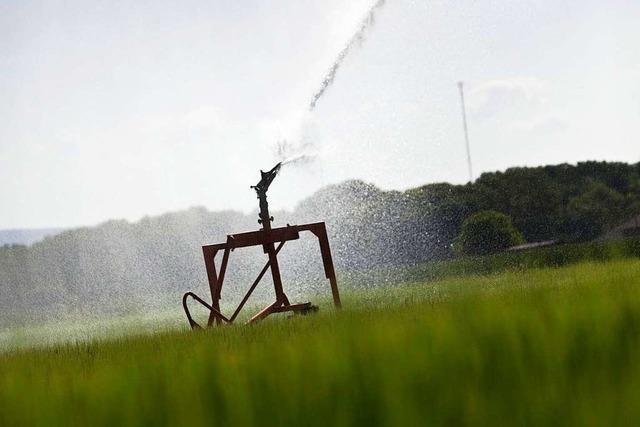 Wasserverband stellt Regeln zum Wasserverbrauch auf