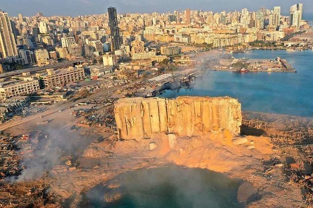 Explosionen in Beirut: