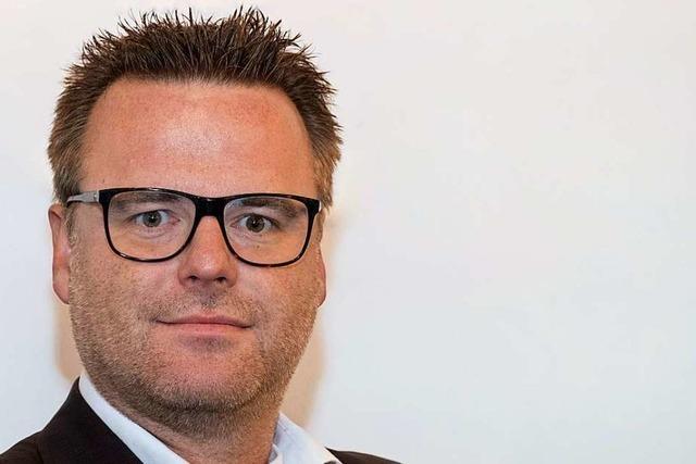 Michael Van den Bossche ist neuer Geschäftsführer von Romaco Innojet in Steinen