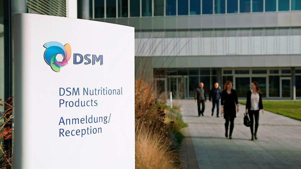 Der DSM Standort in Kaiseraugst  | Foto: DSM