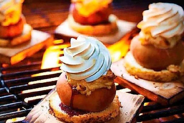 Desserts vom Grill: Lauter süße Schweinereien