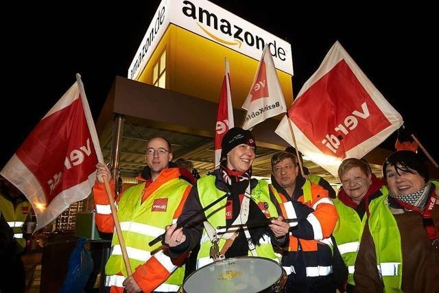 Amazon scheitert mit Klagen gegen Streiks auf dem Firmenparkplatz