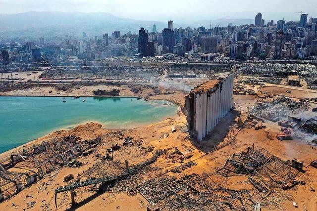 Fotos: Diese Bilder zeigen das Ausmaß der Zerstörung in Beirut