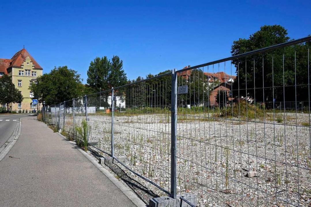Auf dem ehemaligen Pfunder-Areal soll ...h das Projekt ist ins Stocken geraten.  | Foto: Volker Münch