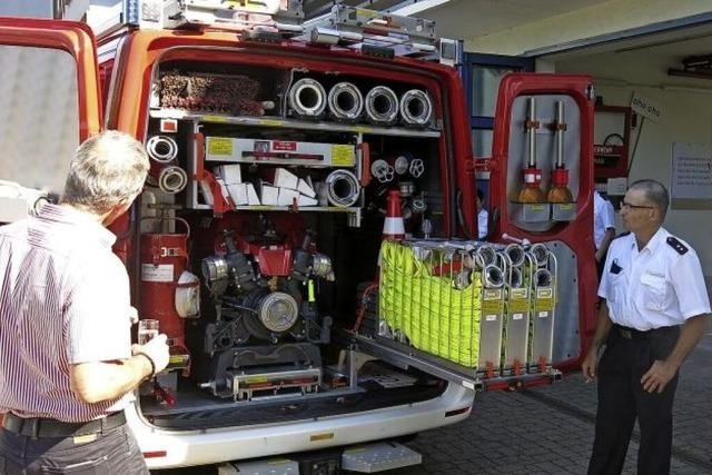 Mehr Schlagkraft für die Feuerwehr