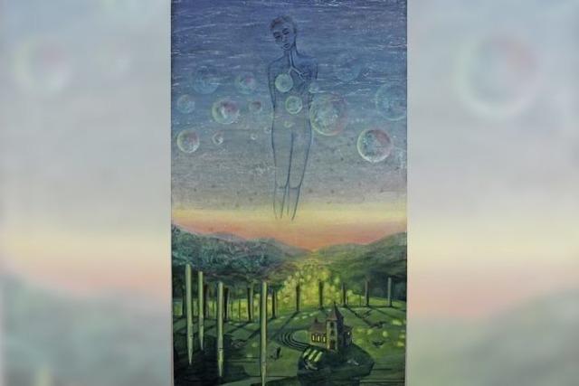 Mensch und Natur surrealistisch