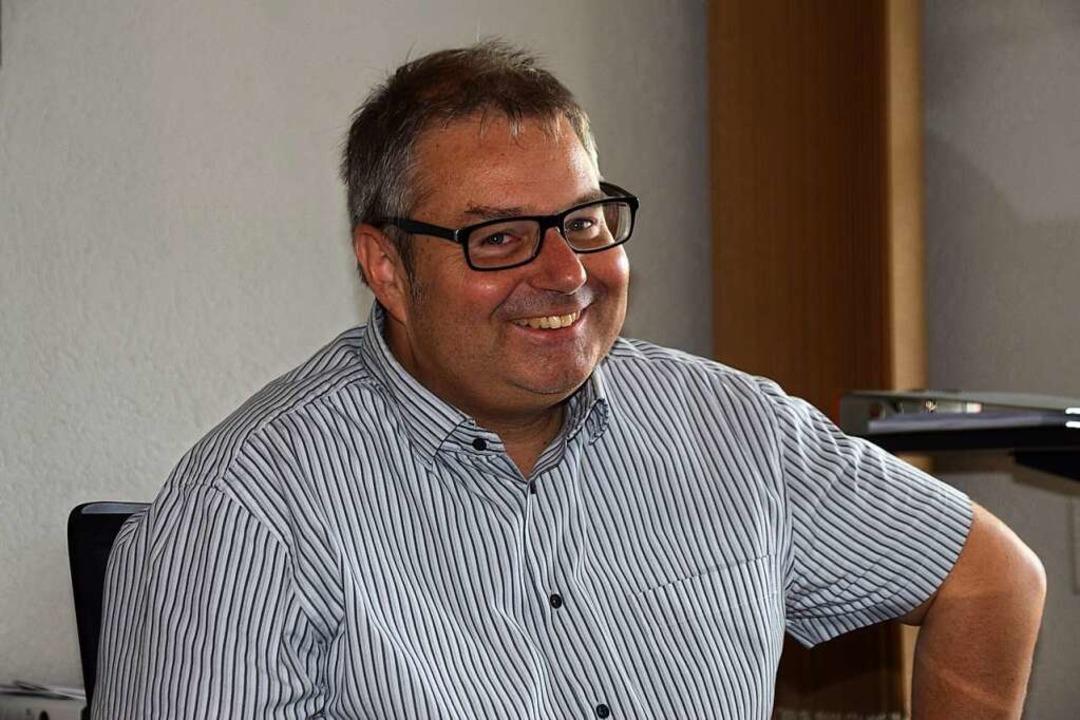 Bürgermeister Alexander Guhl  | Foto: Stefan Ammann