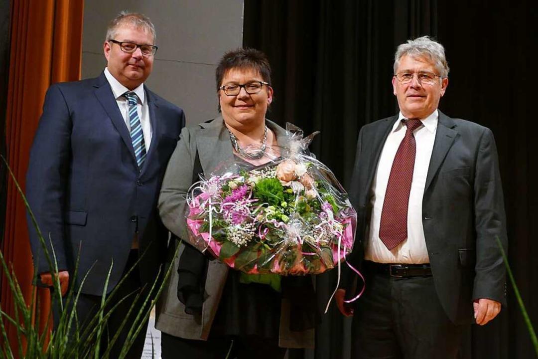 Bürgermeister Guhl mit seiner Frau Ker...020. Bald darauf tagte der Krisenstab.  | Foto: Axel Kremp