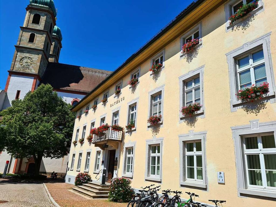 Das Bad Säckinger Rathaus  | Foto: Stefan Ammann