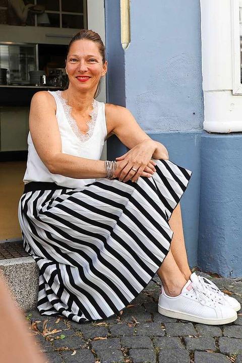 Heike Neumann freut sich auf den Auftakt im Süßen Löchle.    Foto: Christoph Breithaupt