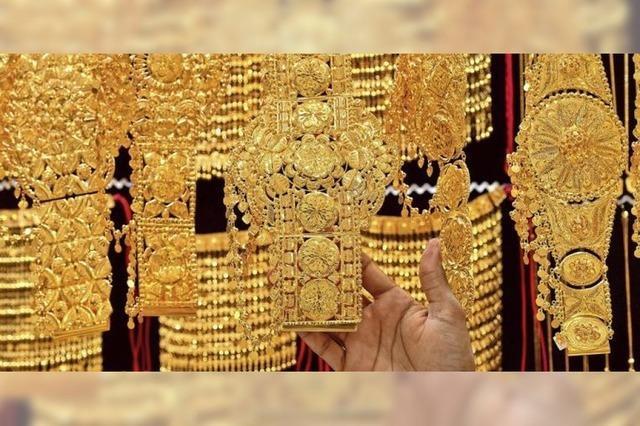 Gold ist so teuer wie noch nie