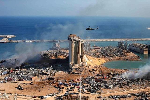 Der Libanon braucht in der Not Hilfe zur Selbsthilfe