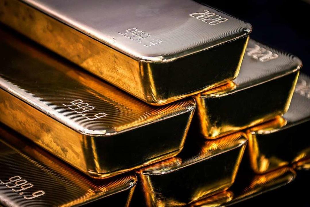 Derzeit besonders viel wert: Gold  | Foto: DAVID GRAY (AFP)