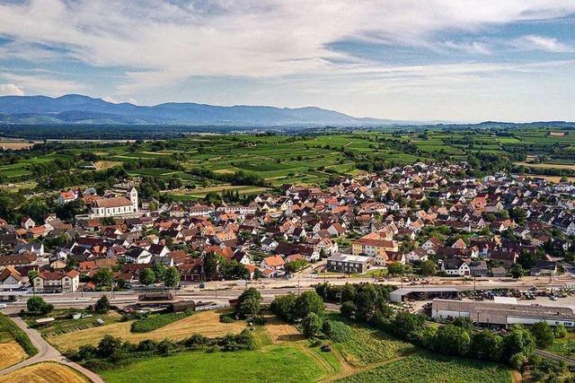 In Gottenheim findet man Ruhe – und einen Platz zum Knutschen