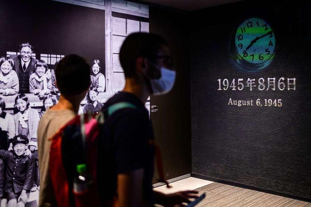 Gedenken an den 6. August 1945    Foto: PHILIP FONG (AFP)