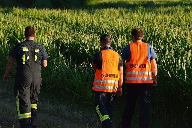 Feuerwehr sucht weiter nach 62-jährigem Mann aus Hecklingen