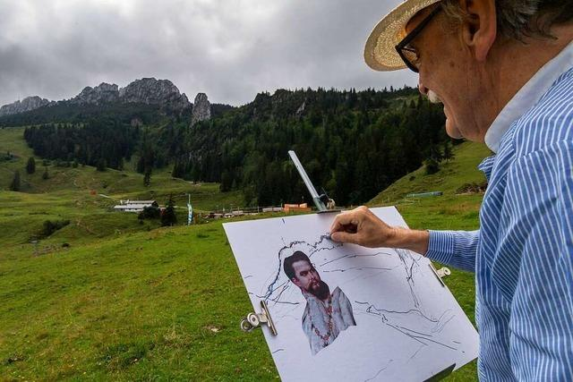Entsteht ein 25 Meter hohes Konterfei von Ludwig II. im Felsen?