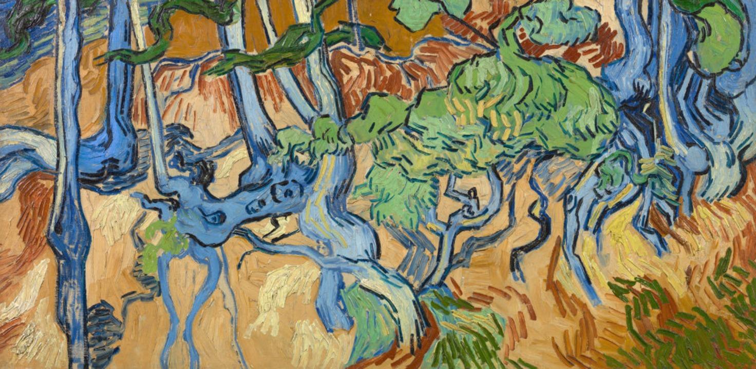 Baumwurzeln» (1890), das letzte Gemälde von Vincent van Gogh  | Foto: - (dpa)