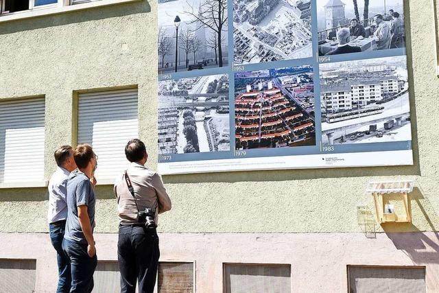 Das Staatsarchiv zeigt 200 Jahre Stadtgeschichte im Hinterhof