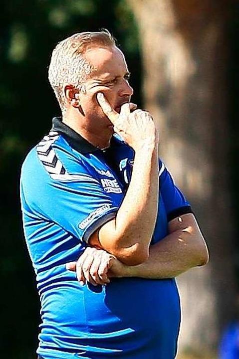 Seinen Plan für die Pokalpartie hat SCL Coach Oliver Dewes bereits im Kopf.    Foto: Peter Aukthun-Goermer