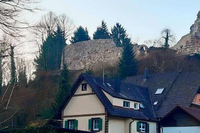 Die Diersburger Burgruine ist Denkmal des Monats