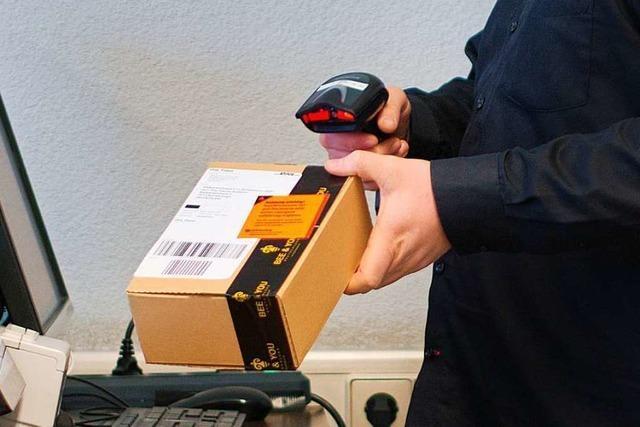 Bad Säckinger nimmt Pakete für Schweizer an, damit diese weniger Versandkosten zahlen