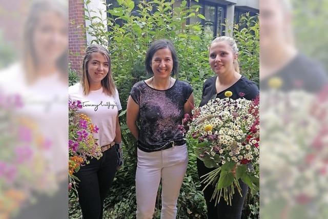Zwei gute Floristinnen