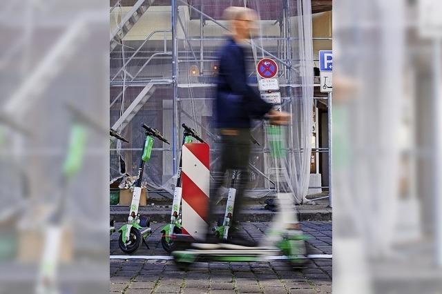 E-Scooter-Fahrer muss hohe Strafe zahlen