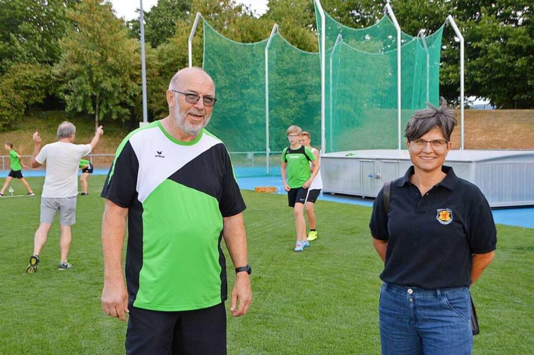 Thomas Rist und Ida Heidemann  | Foto: Horatio Gollin