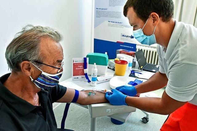 Corona-Antikörperstudie des Helmholtz-Instituts ist in Freiburg gestartet