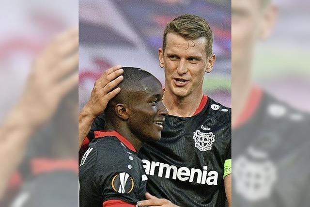 Leverkusen trifft nun auf Inter Mailand