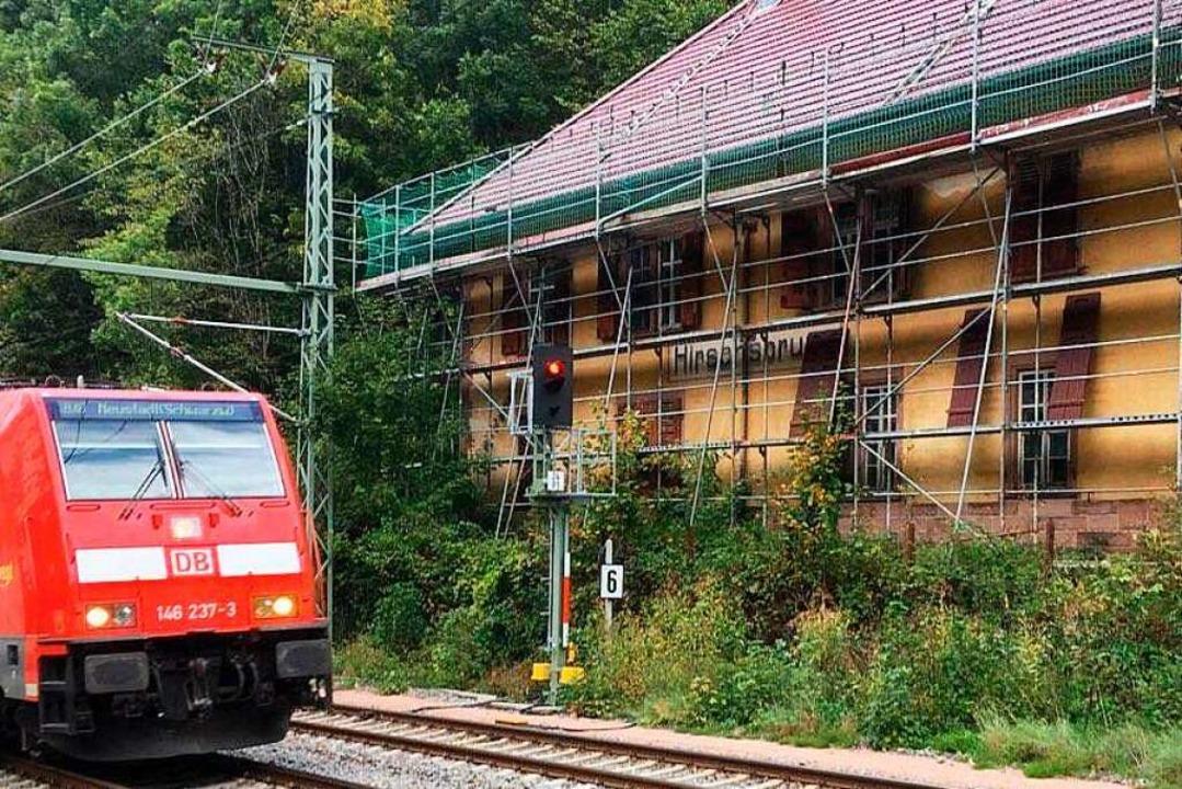Der Bahnhof Hirschsprung – hier ein Archivbild – gehört zu Breitnau.  | Foto: Michael Dörfler