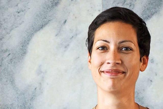Sonia Bekhoucha-Held ist Quartiersmanagerin in Friedlingen