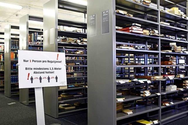 900 statt 9.000 Plätze: So läuft das Arbeiten in der UB und den Fachbibliotheken