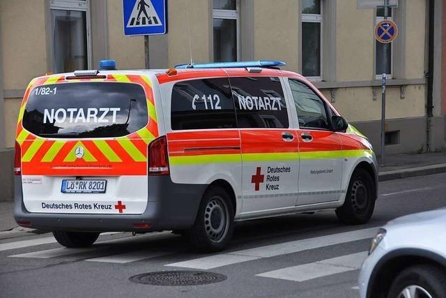 Der Notarzt kommt im Kreis Lörrach meist mit einem Kleintransporter